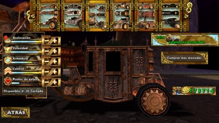 Steampunk Racing 3DCaptura de pantalla de3
