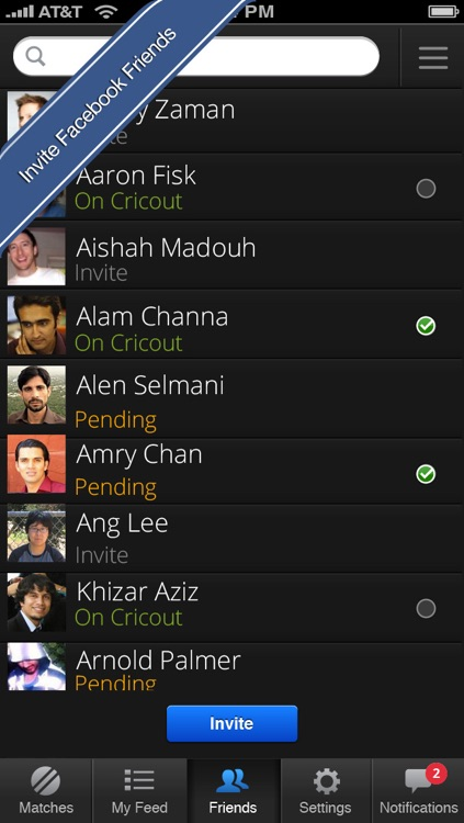 Cricout - Live cricket scores, commentary, experts and friends. The most fun way to follow cricket online! screenshot-4