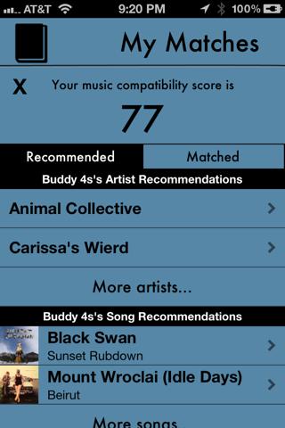 Tune Match screenshot 2