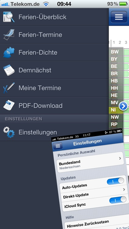 Ferien-Kalender screenshot-4