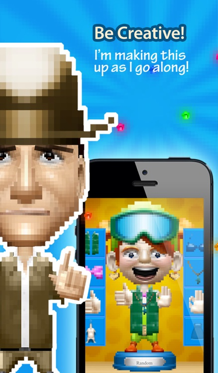 Pixelheads - Pixel Portrait Bobble Head Avatar Maker by Bobbleshop screenshot-4