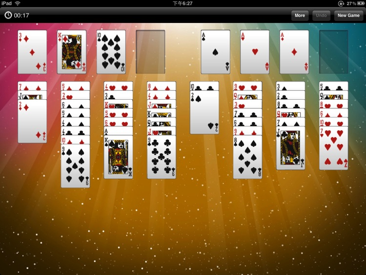 FreeCell Solitaire HD Free screenshot-3