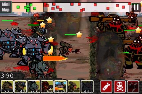 2012 Zombies vs Aliens Warfare screenshot-3