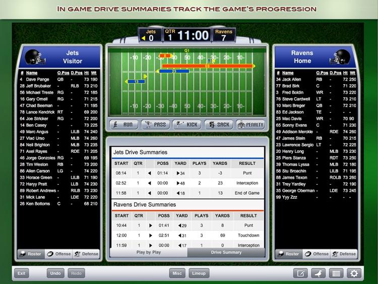 iScore Football Scorekeeper for iPad screenshot-3