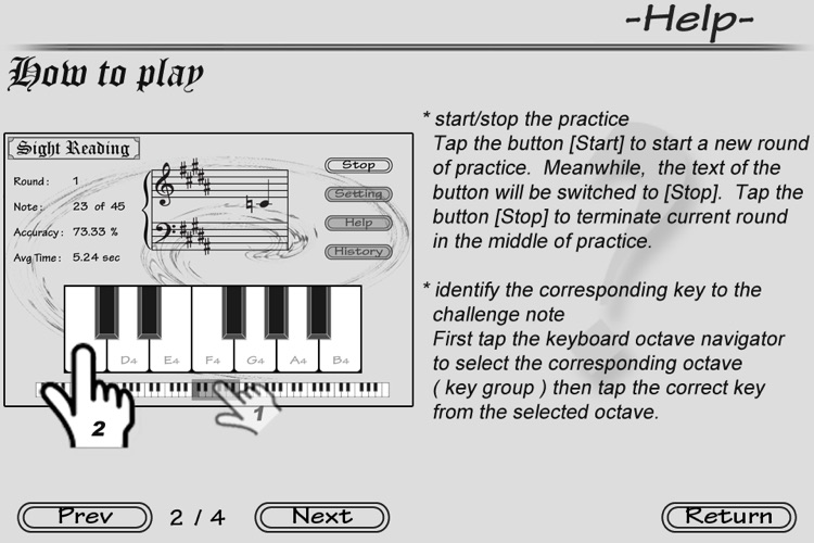 Piano Sight Reading screenshot-4