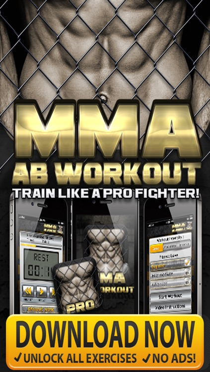 Ab Workouts MMA PRO - Core Strength Abdominal Flex Training & Personal Abs Trainer