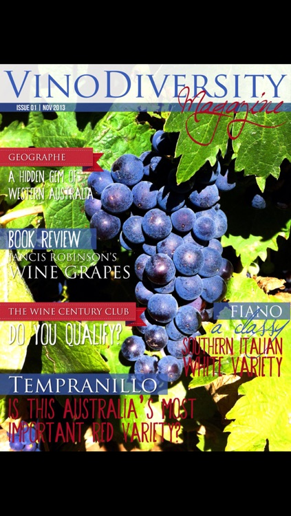 Vinomag - Vinodiversity Magazine for adventurous wine lovers in Australia and beyond