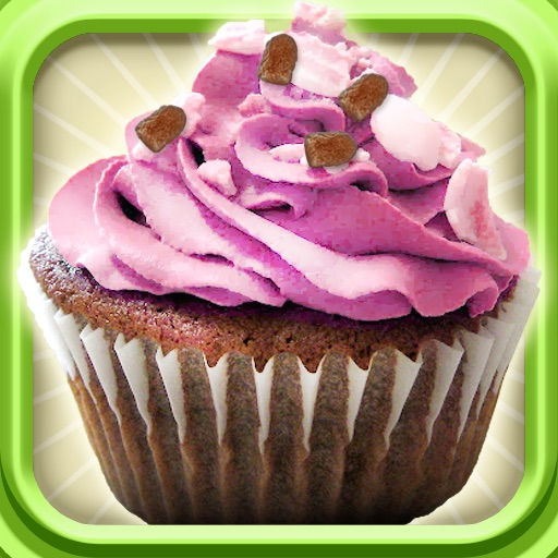 Cupcake-Cooking game icon