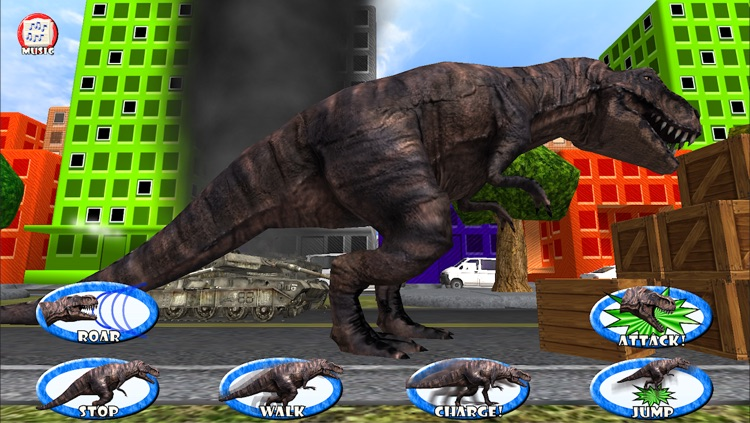 Dinosaur Roar & Rampage! 3D Game For Kids and Toddlers by Coded Velocity,  Inc