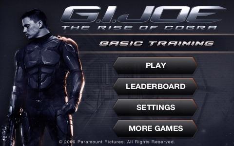 G.I. JOE: THE RISE OF COBRA - BASIC TRAINING