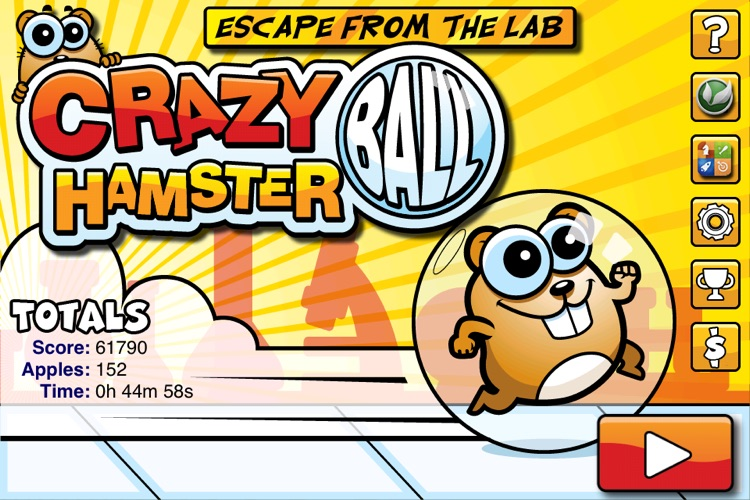 Crazy Hamster Ball Free screenshot-0