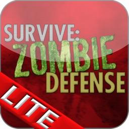 Survive: Zombie Defense Lite HD