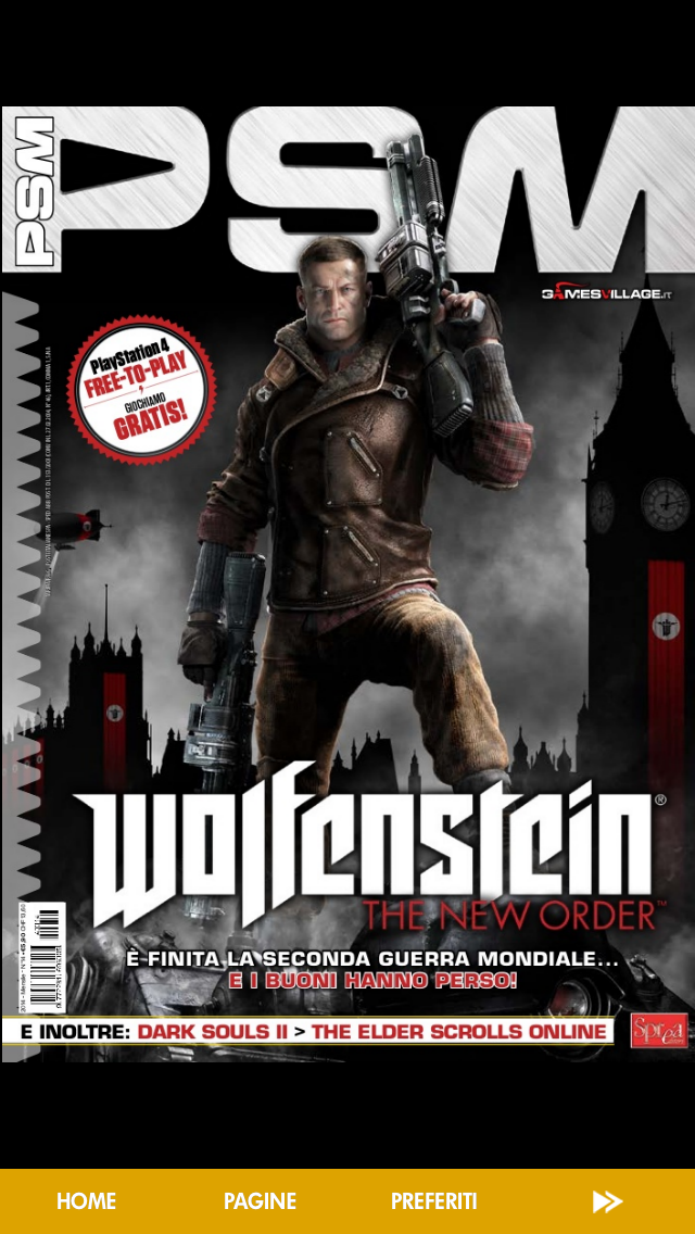Play Station Magazine Screenshot on iOS