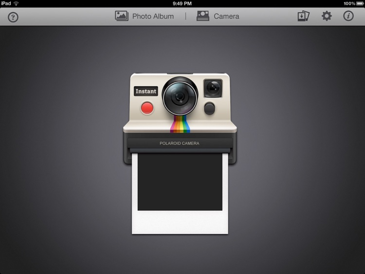Instant: The Polaroid Instant Photos for iPad screenshot-1