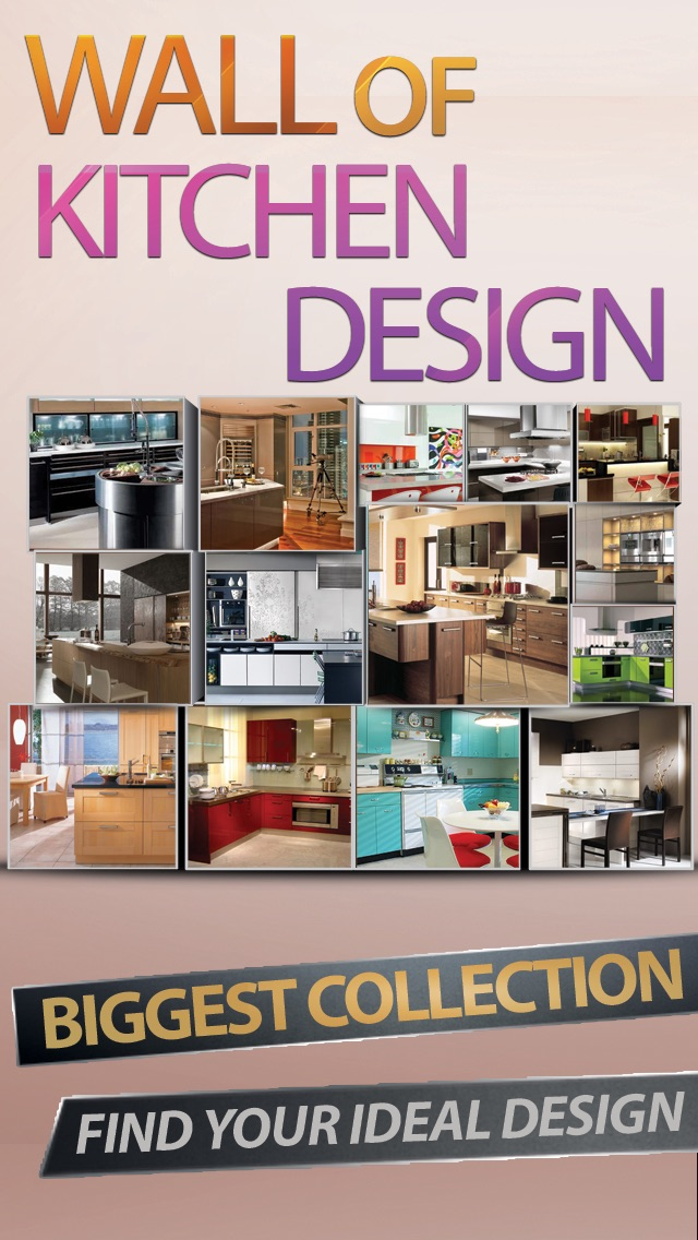 Kitchen design+ Screenshot
