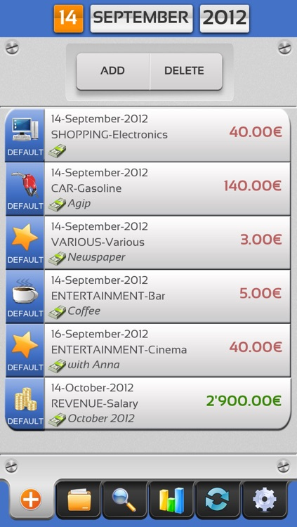 Expenses Under Control screenshot-1
