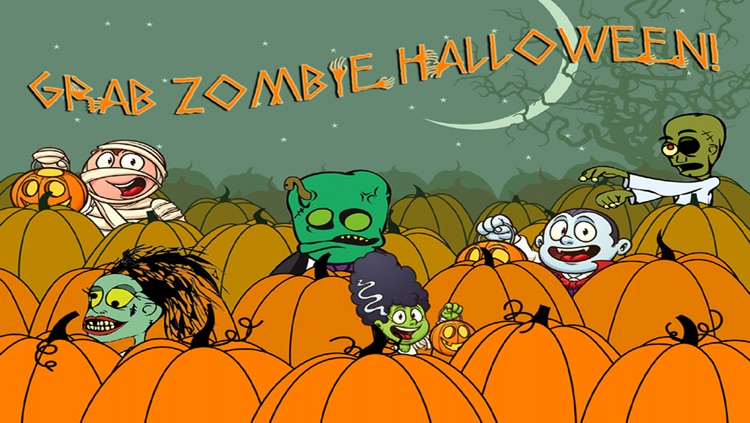 Zombie Halloween, Pumpkin Patch Fun Games screenshot-3
