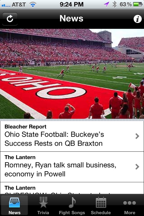 Ohio State Buckeyes Trivia, News and More