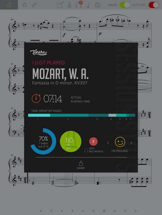 Tonara Interactive Piano Sheet Music screenshot-4