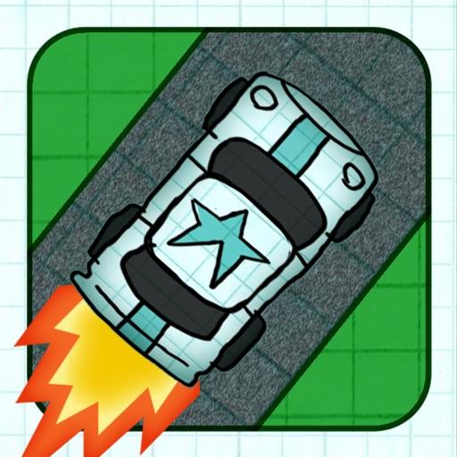 Бесплатный гоночный автомобиль игра (Doodle Road Race - A Fun Car Racing Game Free)