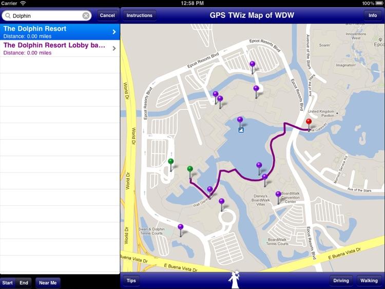 GPS Transportation Wizard HD for Walt Disney World screenshot-3