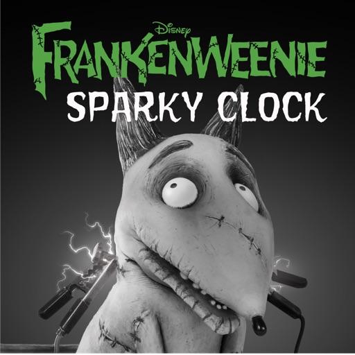 Frankenweenie Sparky Clock