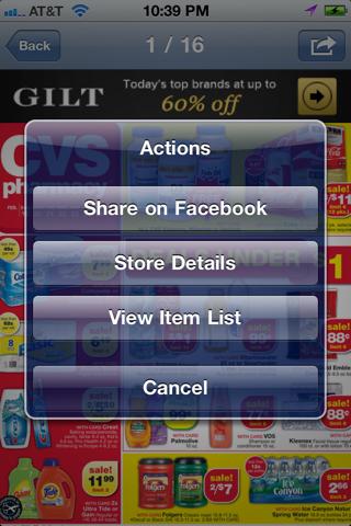 Weekly Ads & Sales for Kohls, CVS, Publix, Bestbuy, etc screenshot 2