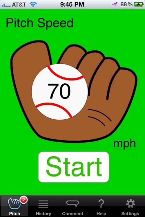 Pitch Speedometer