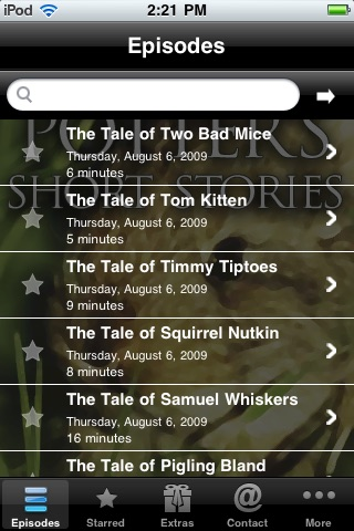 Beatrix Potter's Short Stories screenshot-1