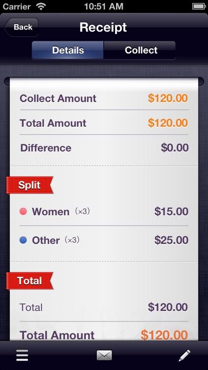 SpliTron - Bill Splitter and Tip Calculator screenshot-3