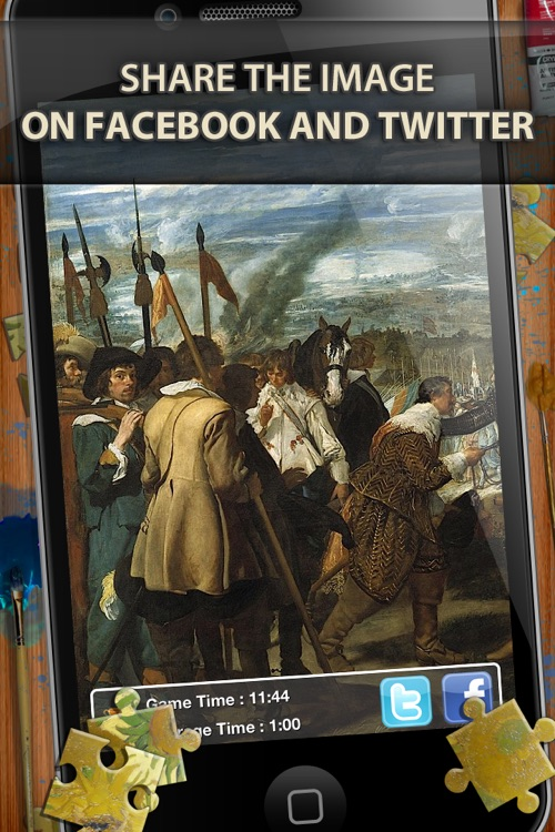 Diego Velazquez Jigsaw Puzzles - Play with Paintings. Prominent Masterpieces to recognize and put together screenshot-3