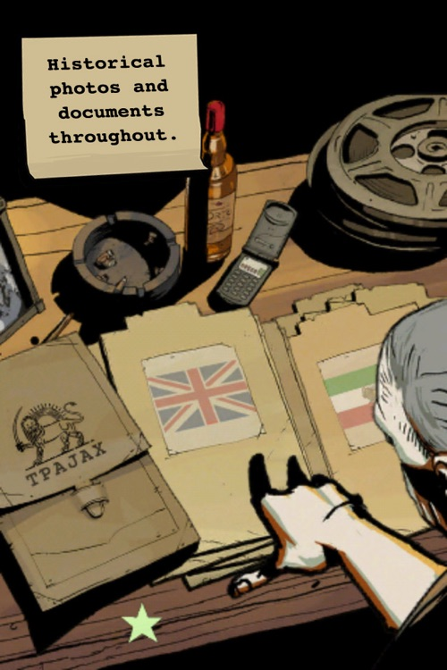 CIA : Operation Ajax the Interactive Graphic Novel for iPhone screenshot-3