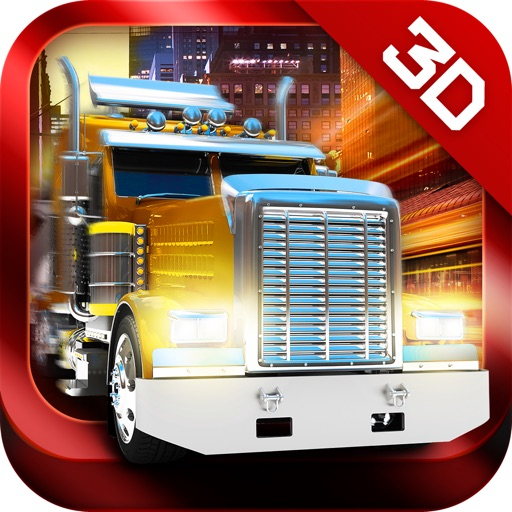 Trucker 3D Real Parking Simulator Game HD - Drive and Park Oil Truck and Semi Trailer icon