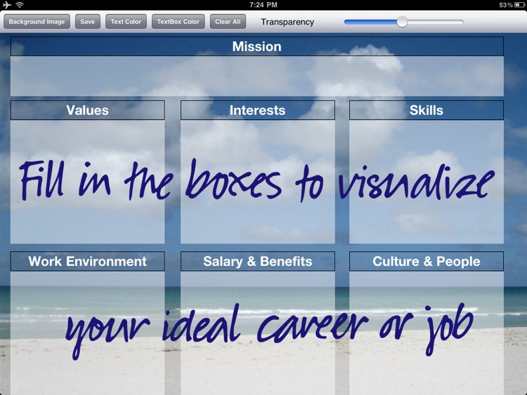 Job & Career Vision Board