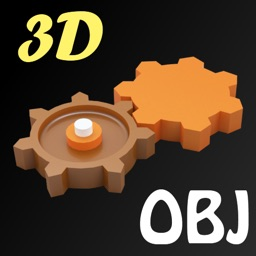 SimLab 3D OBJ Viewer