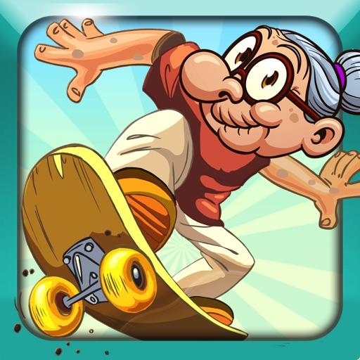 Skateboard Granny Pro