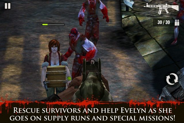 Contract Killer: Zombies Screenshot