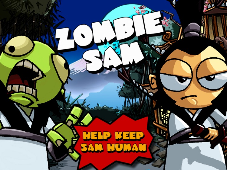 Zombie Sam HD screenshot-0