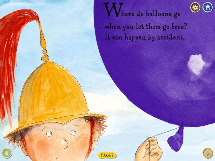 Where Do Balloons Go? An Uplifting Mystery : a creativity-enhancing kid's book by Jamie Lee Curtis (by Auryn Apps) screenshot-1