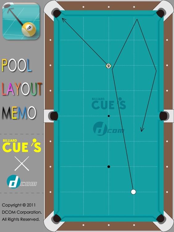 Pool Layout Memo