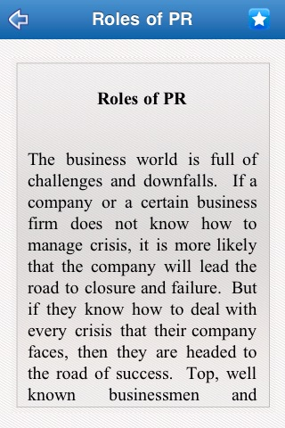 Public Relation Guide screenshot-2