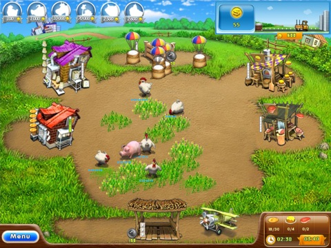 Игра Farm Frenzy 2 HD