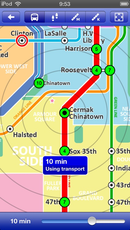 Chicago Metro - Map and route planner by Zuti screenshot-3