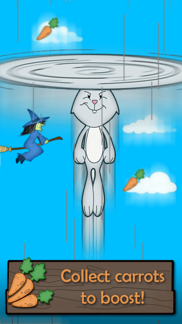 空飛ぶウサギ 無料ゲーム ' 無料アプリのおすすめ画像4