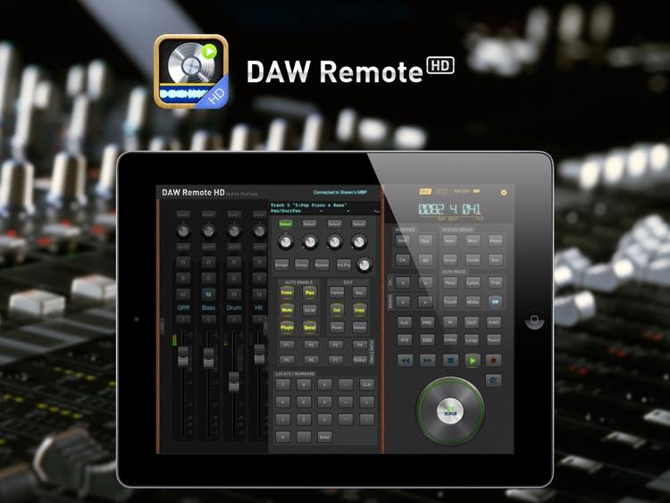 DAW Remote HD screenshot-4