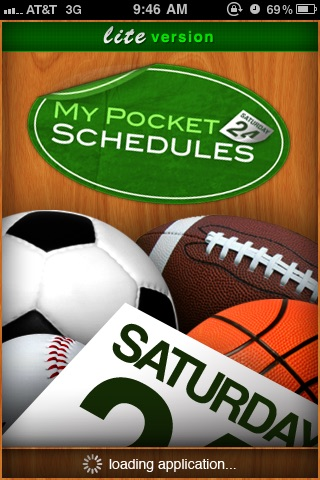 My Pocket Schedules Lite - Youth, College, Pro Teams