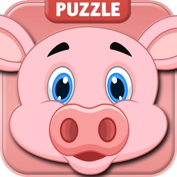 Animal Puzzle Game for Kids Free