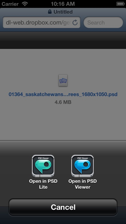 PSD Viewer Pro for Photoshop documents screenshot-4