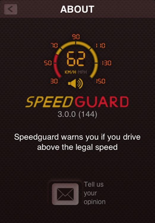Speed Guard Free screenshot-3