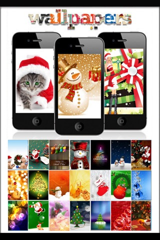 Wallpaper For Xmas Hd Free Background Home Screen Shelves